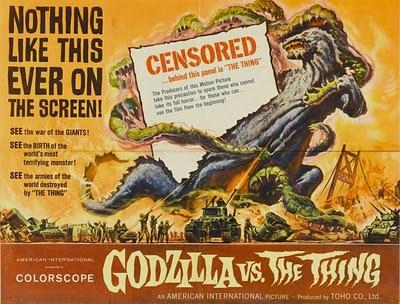 Godzilla vs The Thing!