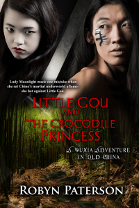 Crocodile Princess  Front-med